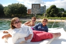 smiles at brownsea castle