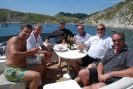 Barry B team building   lulworth cove